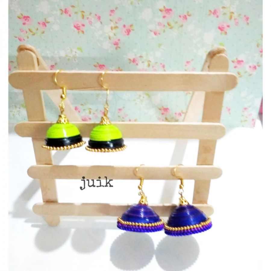 paper quiling earring