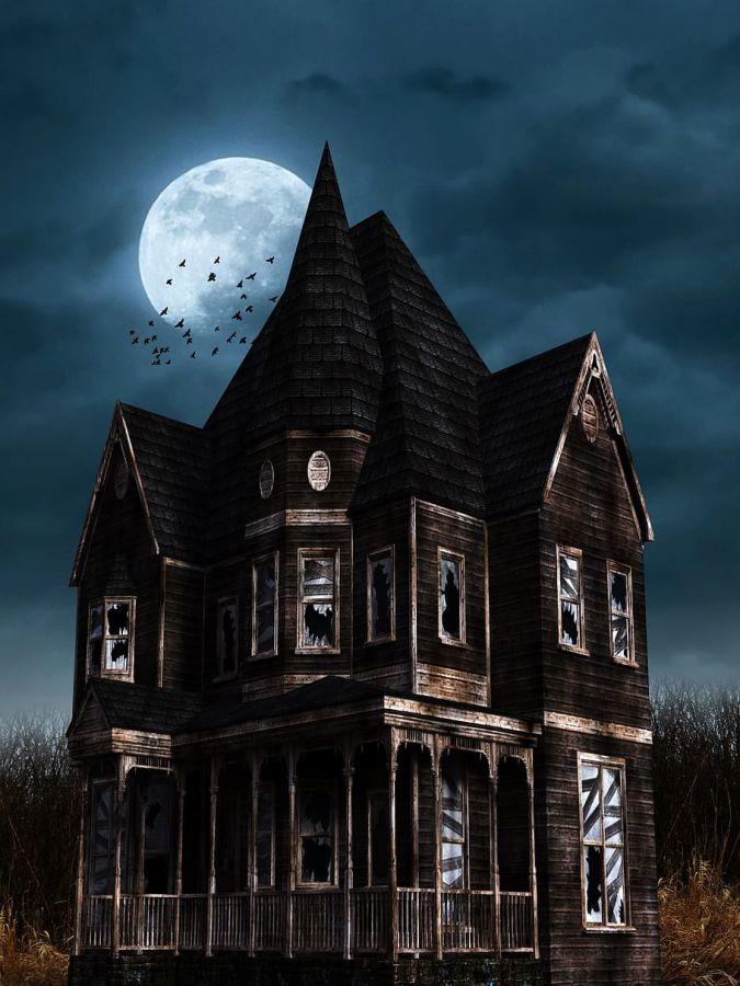 halloween bates hotel