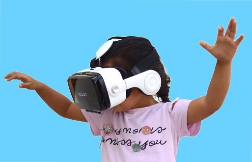 3 D headset