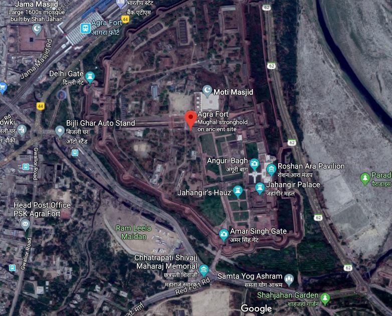 Agra Fort shivaji Smarak.JPG