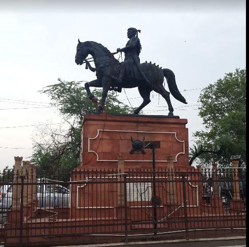 Shivaji smarak Agra Fort.JPG