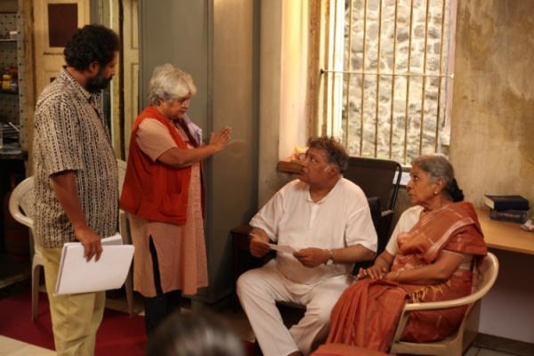 Directors with Uttara Baokar & Vikram Gokhle.JPG
