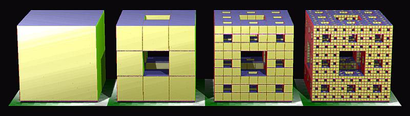 Menger_sponge_(Level_0-3).jpg