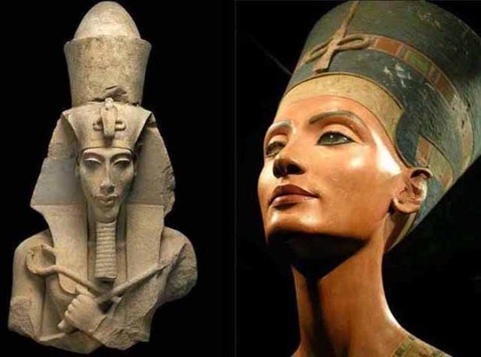 Akhenaten__Nefertiti